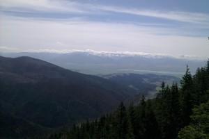 Pohľad z Holice do prednej časti Suchej doliny