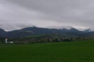 Nízka oblačnosť nad Valachovou nohavicou