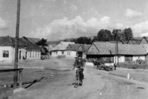 Pohľad z Hája na starú časť Sielnice