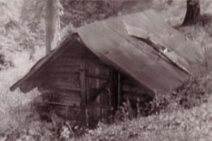 Pastierska koliba v Sivom v roku 1981