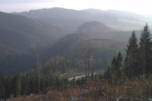 Pohľad do Suchej doliny