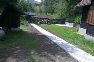 Chodník po dokončení