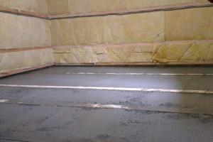 Zabetónovanie podlahy