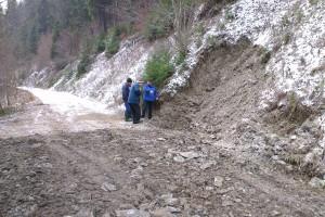Rekonštrukcia odvoznej cesty z doliny Sestrč na Poľanu