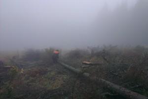 Na hrebeni nebolo celý týždeň vidno ďalej ako na pár desiatok metrov