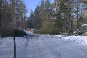 Premávka bola počas prác priebežne odstavená
