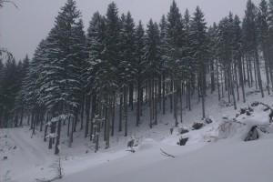 Príchod pravej zimy na Holé Žiare